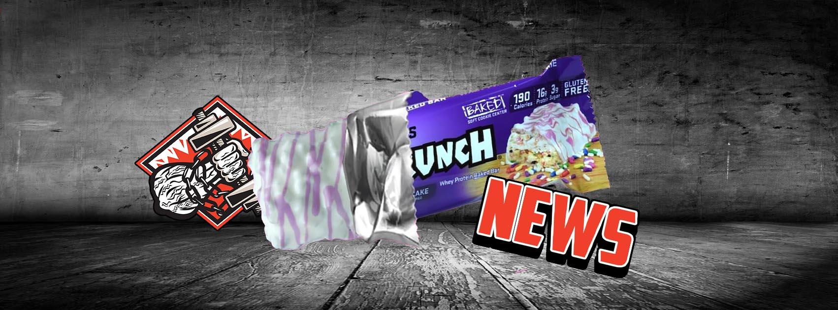 Fit Crunch Birthday Cake Riegel Startet Diesen Monat